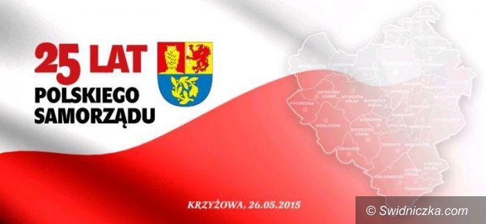 Krzyżowa: 25 lat samorządu terytorialnego