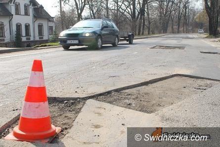 Świdnica: Remonty dróg i chodników w Świdnicy