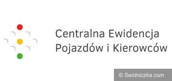 Region: Nowa strona internetowa Centralnej Ewidencji Pojazdów i Kierowców