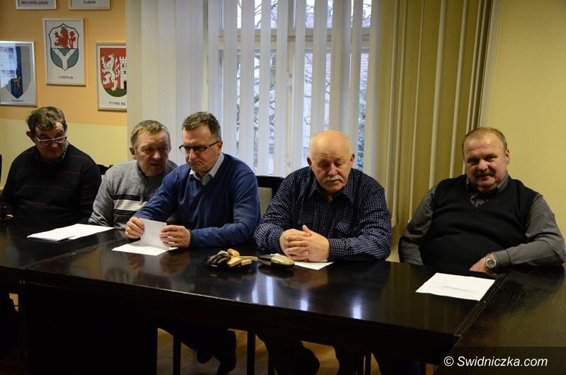 Żarów: Żarów: Przedświąteczne spotkanie z sołtysami