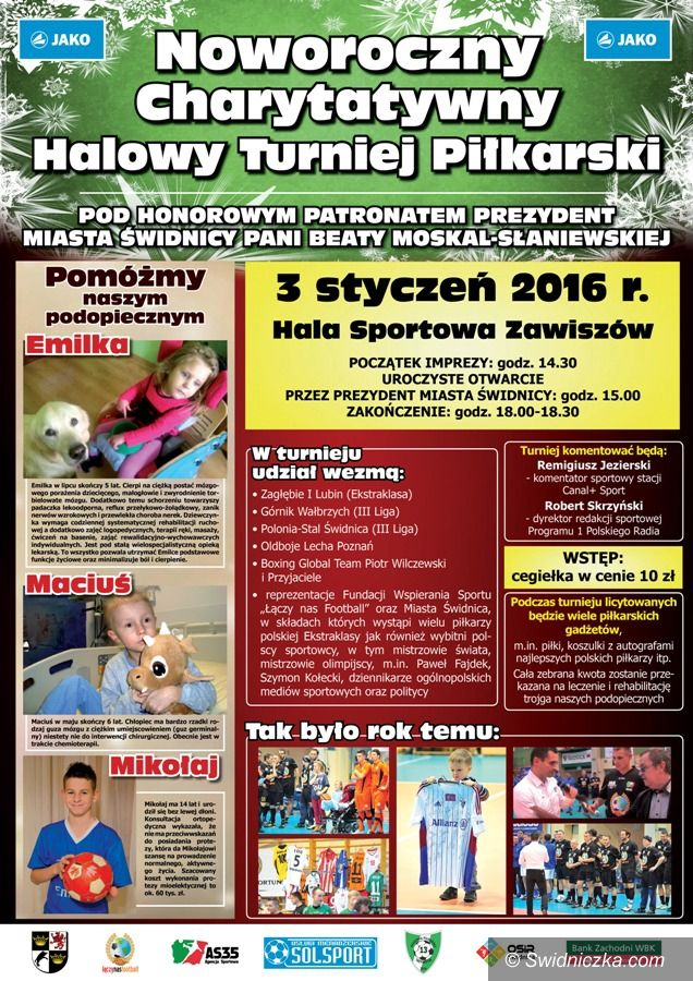 Świdnica: Sportowa bomba wybuchnie już w niedzielę!