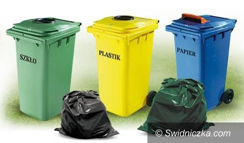 Świdnica: Nowy harmonogram wywozu śmieci