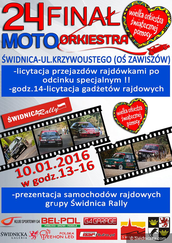 Świdnica: WOŚP Świdnica Rally