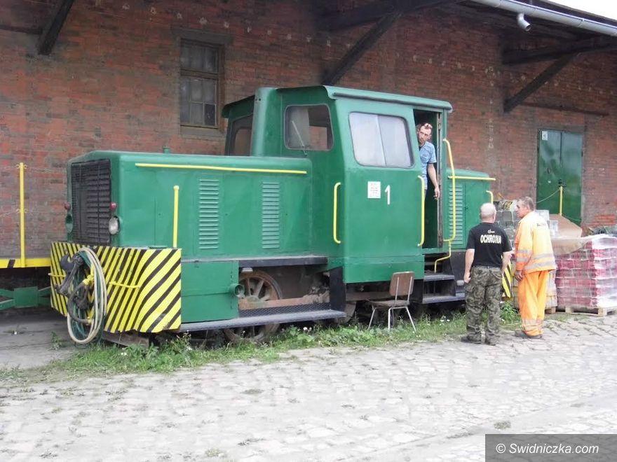 Jaworzyna Śląska: Lokomotywa spalinowa 409Da dla Muzeum Przemysłu i Kolejnictwa