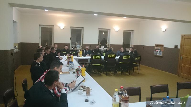 Żarów: Strażacy wybierają nowe władze