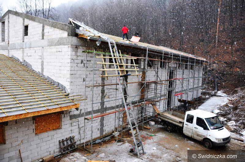 Region: Trwa budowa sali gimnastycznej w Bystrzycy Górnej