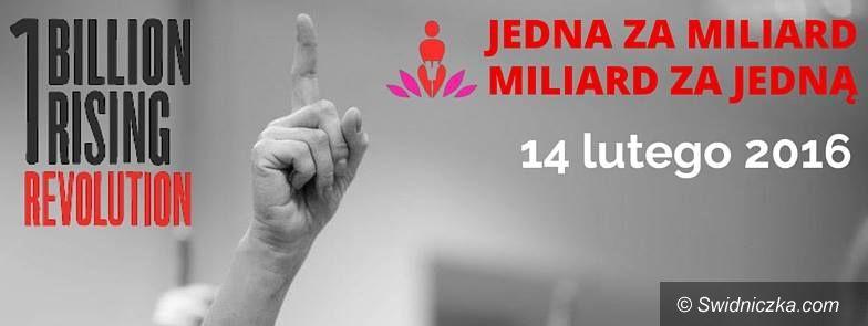 Świdnica: One Billion Rising / Nazywam się Miliard Świdnica – 14 lutego 2016