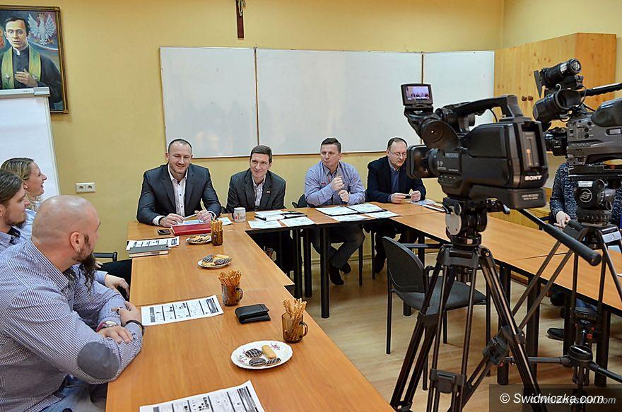 Wałbrzych: Konferencja prasowa związkowców wałbrzyskiej Toyoty