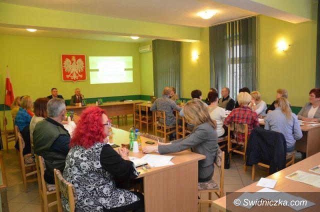 Marcinowice: Marcinowice: Narada z Sołtysami – Stowarzyszenie krok po kroku