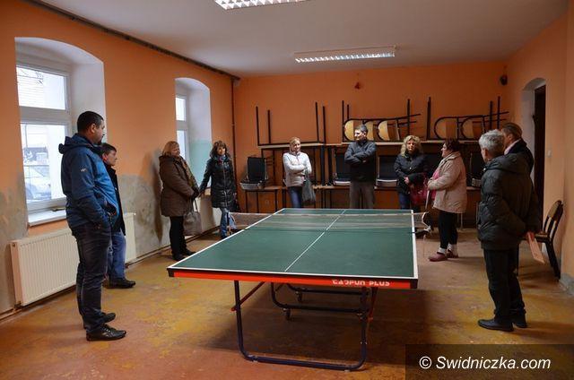 Marcinowice: Marcinowice: Wizytacje komisji na świetlicach wiejskich