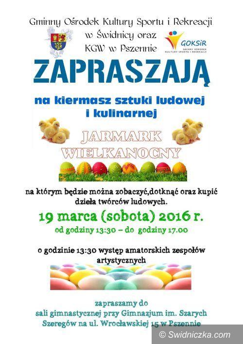 """Region: """"Jarmark Wielkanocny"""" w Pszennie"""