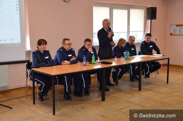 Marcinowice: Rozmowy o bezpieczeństwie w gminie Marcinowice