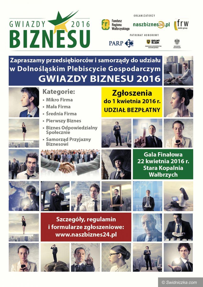 """Region: Dolnośląski Plebiscyt Gospodarczy """"Gwiazdy Biznesu 2016"""""""