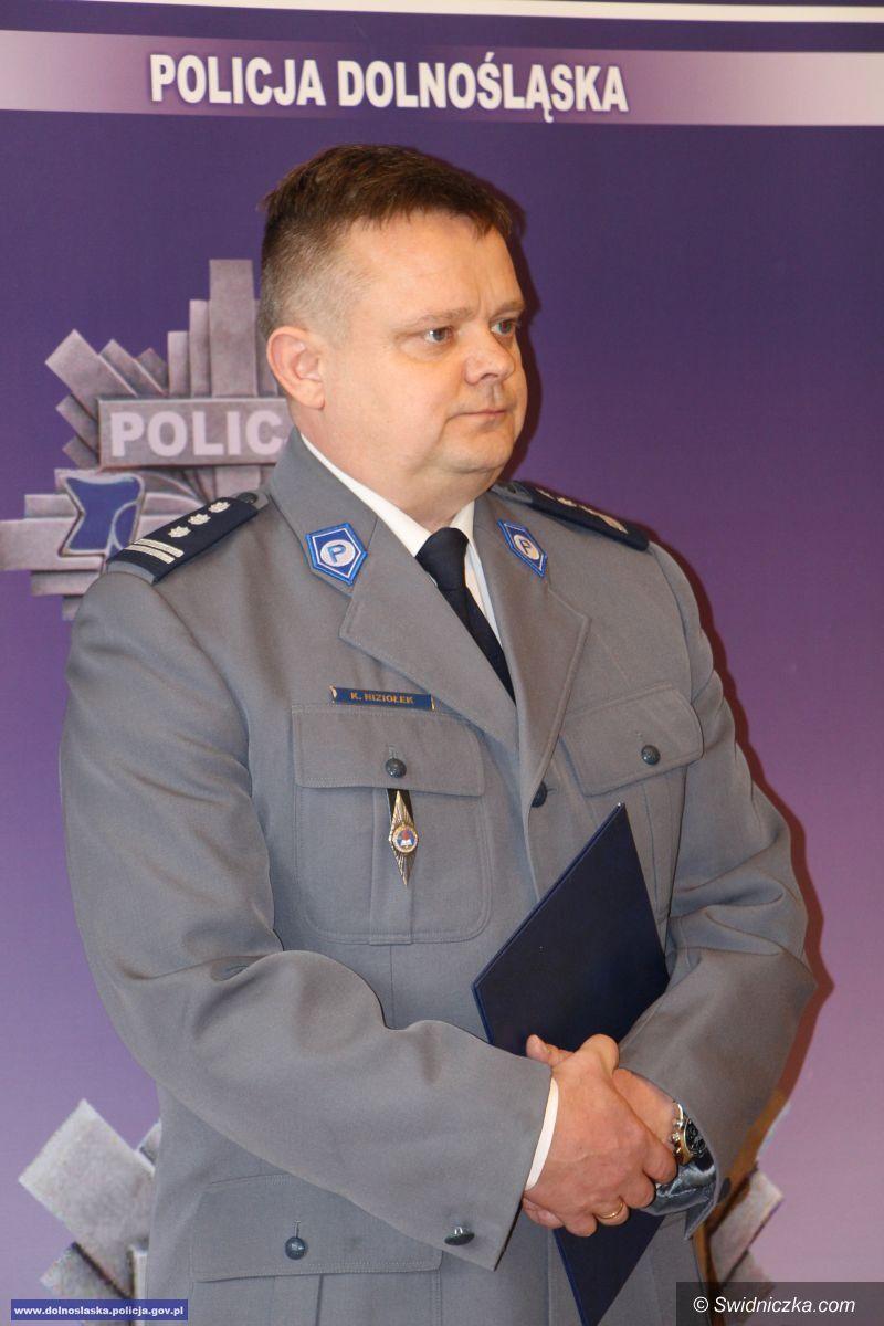 Świdnica: Nowy Zastępca Komendanta Wojewódzkiego Policji we Wrocławiu