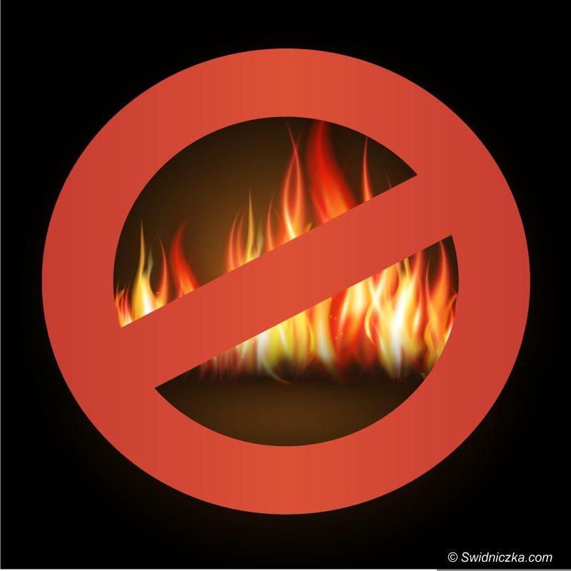 Świdnica/Region: Wiosenne porządki nie oznaczają spalania śmieci