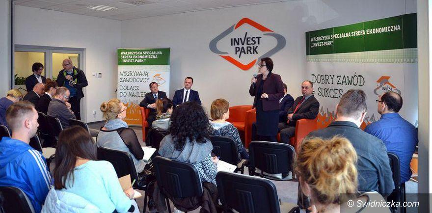 Wałbrzych: Minister Anna Zalewska z wizytą w Wałbrzychu