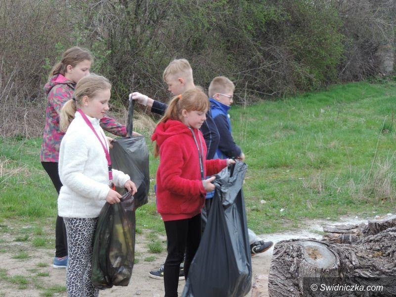 Strzegom/Region: Wiosenne porządki w Jaroszowie