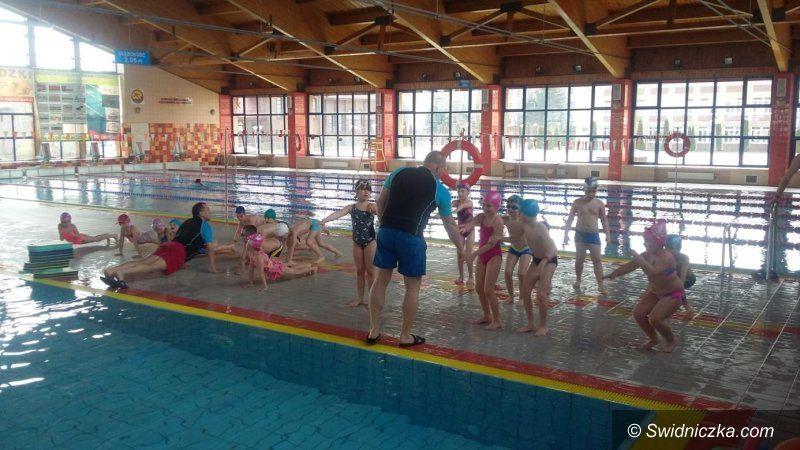 Świdnica: Poznają techniki pływania