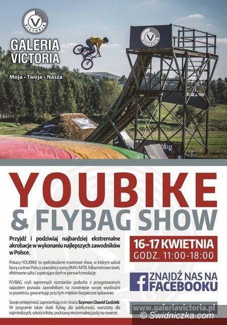 Wałbrzych: Galeria Victoria: YOUBIKE & FLYBAG SHOW