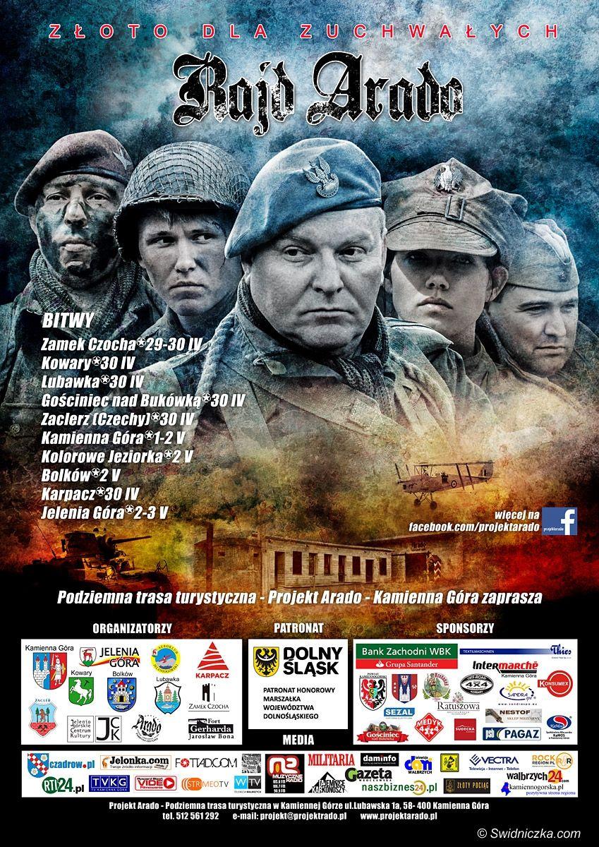 Region: Rajd Arado – Największa w Polsce impreza rekonstrukcyjna rusza już 30 kwietnia