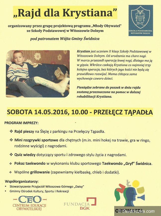 "Świdnica/Region: ""Rajd dla Krystiana"""