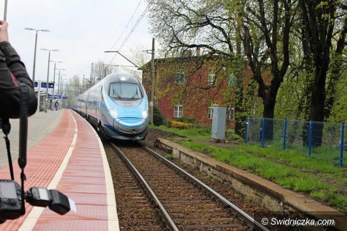 Wałbrzych/Region: Pendolino będzie regularnie kursować przez Wałbrzych
