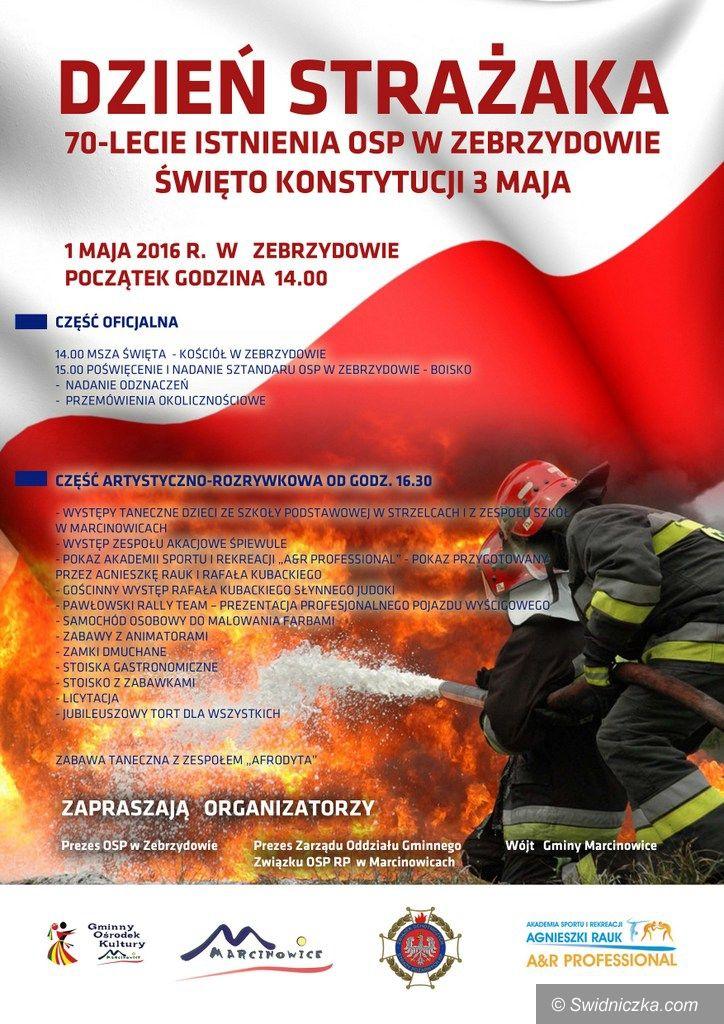 Marcinowice: Marcinowice: Święto Konstytucji i Gminny Dzień Strażaka