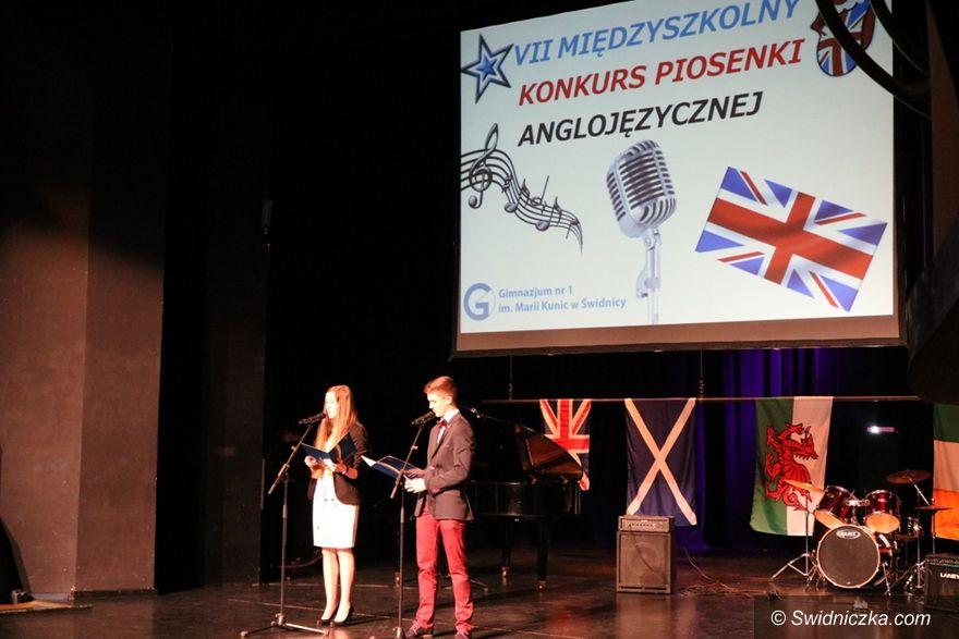 Świdnica: VII Powiatowy Konkurs Piosenki Anglojęzycznej