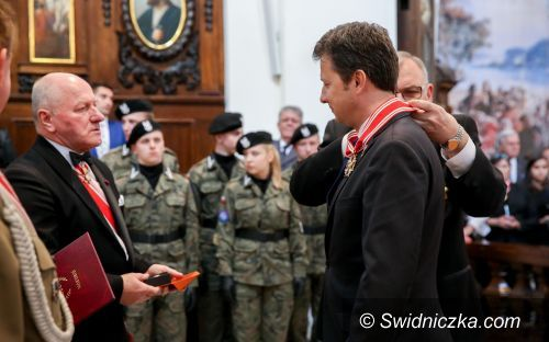 Świdnica/Warszawa: Marek Michalak odznaczony Orderem Świętego Stanisława