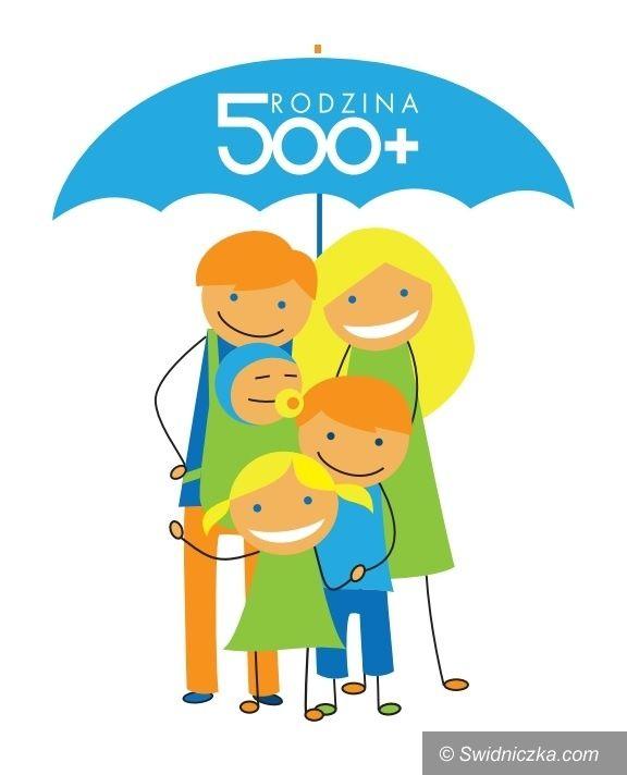 Świdnica/Region: Ruszyły wypłaty 500+