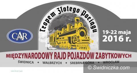 """Świdnica/Region: Rajd wiosenny """"W Pogoni za Złotym Pociągiem"""""""