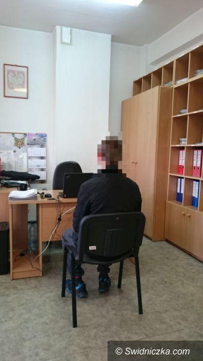 Świdnica: Policjanci odzyskali samochód i zatrzymali sprawcę