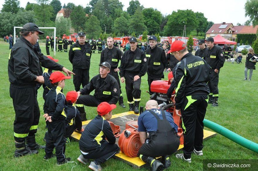 REGION, Lutomia Dolna: Strażackie zmagania