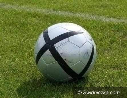 Strzegom: IV liga piłkarska: Remis ze wskazaniem