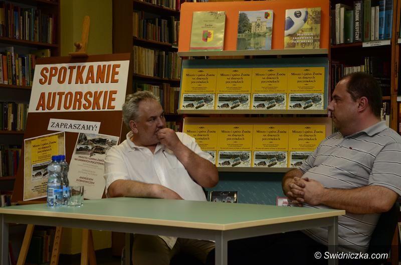 Żarów: Spotkanie autorskie z Andrzejem Dobkiewiczem
