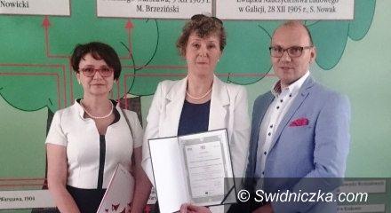 Świdnica: Wyróżnienie dla Zespołu Szkół Hotelarsko–Turystycznych