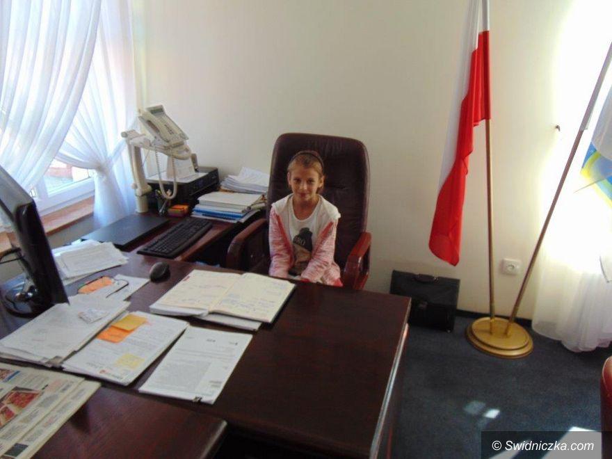 Dobromierz: Alicja Kawińska – młodym wójtem