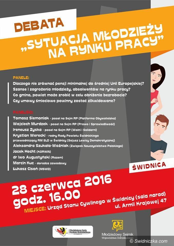 Świdnica: Jaka jest sytuacja młodzieży na rynku pracy?
