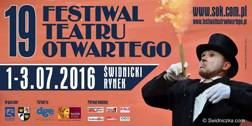 Świdnica: Przed nami Festiwal Teatru Otwartego