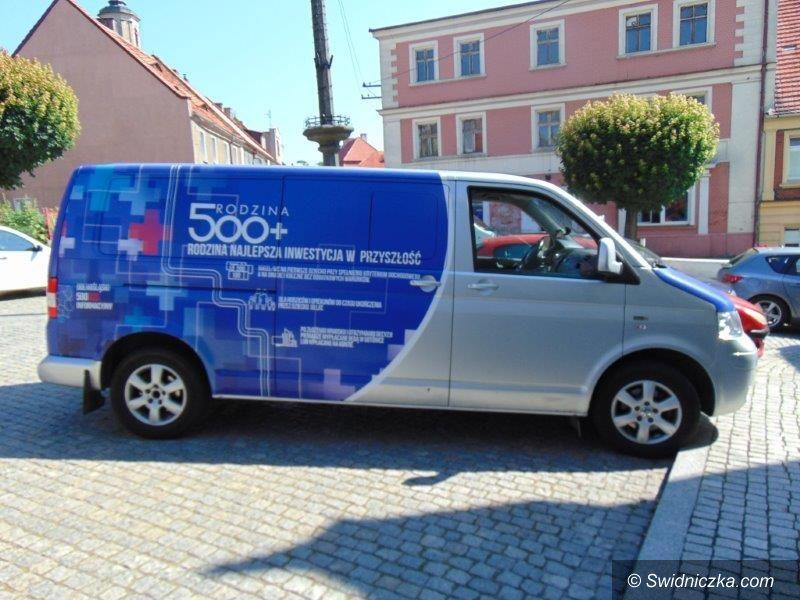 Dobromierz: BUS 500+ w Dobromierzu