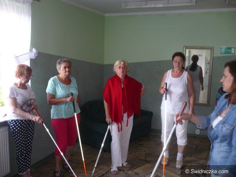 Strzegom: Warsztaty dla niewidomych i niedowidzących