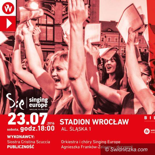 Wrocław: Singing Europe: bilety już w sprzedaży