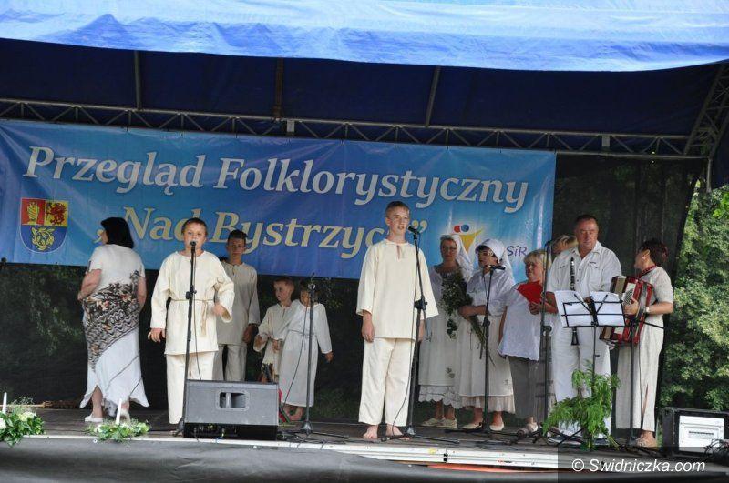 Burkatów: Śpiewali nad Bystrzycą