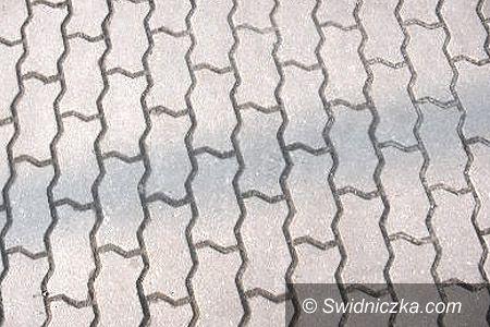 Świdnica: Remonty chodników – zwycięskich inwestycji 3. edycji Budżetu Obywatelskiego