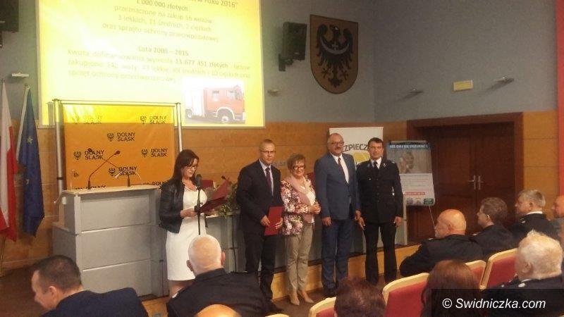 Dobromierz: Będzie bezpieczniej w gminie Dobromierz