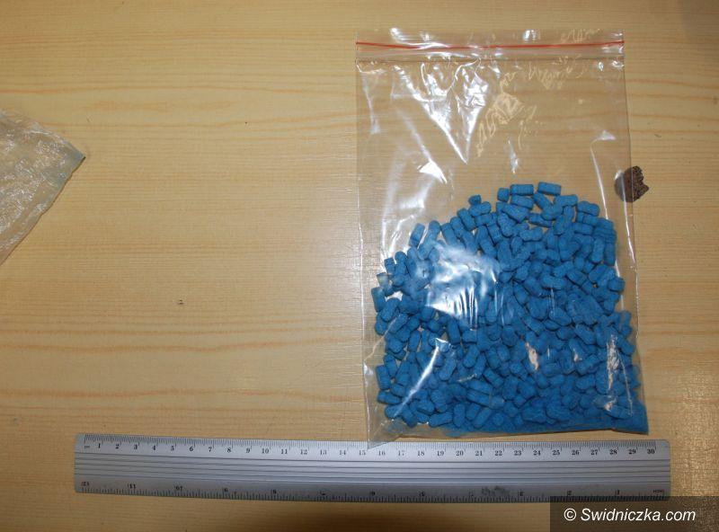 Świdnica: Kolejne narkotyki i dopalacze przechwycone