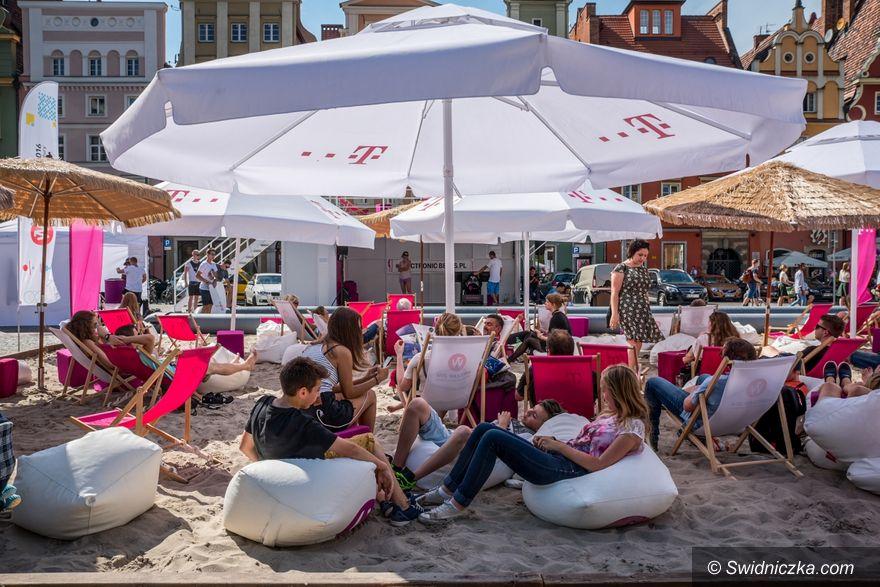 Wrocław: Plaża na pl. Solnym – T–Mobile Nowe Horyzonty
