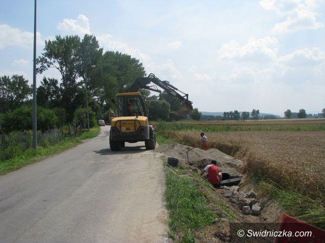 Marcinowice: Inwestycje drogowe w gminie Marcinowice