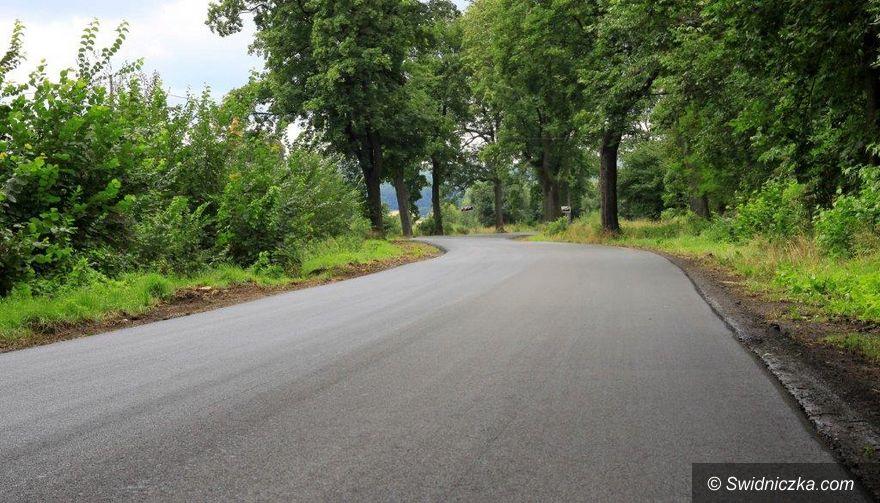 Gmina Dobromierz: Kolejna drogowa inwestycja zrealizowana