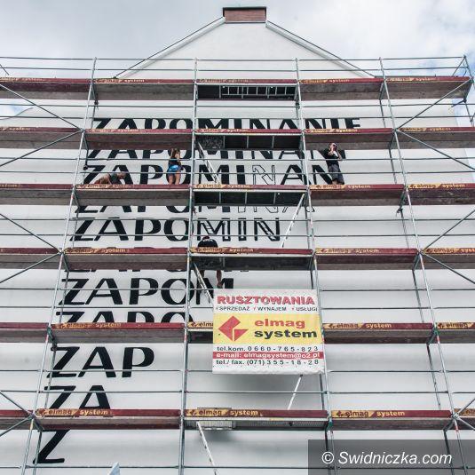 Wrocław: Ścieżki tekstu na ścianach miasta – prace trwają!
